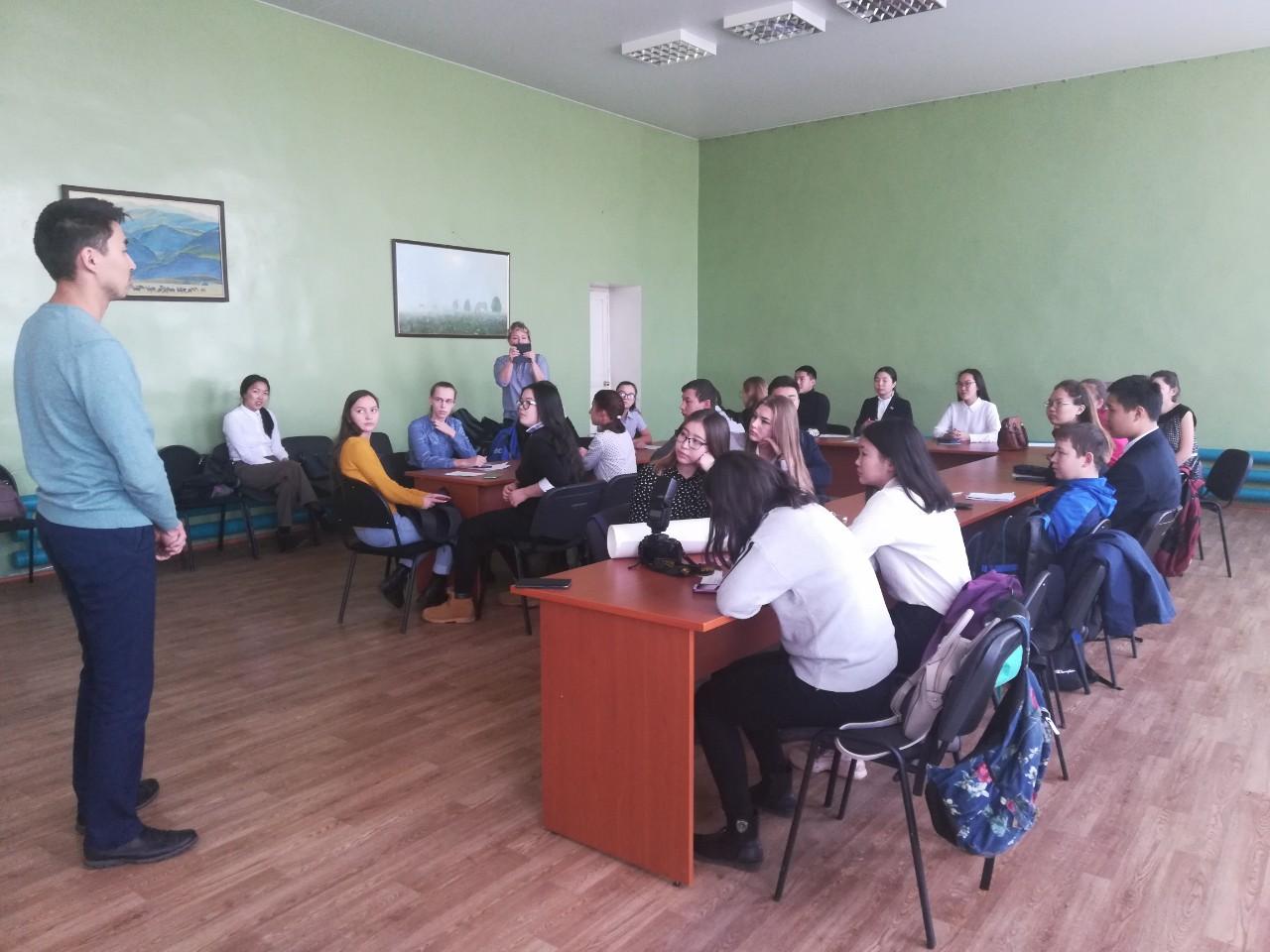 Осенняя сессия Районного школьного парламента